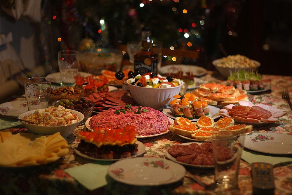 Новогодне-кулинарное