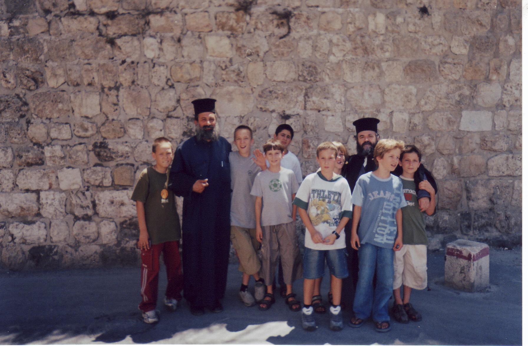 русские православные в Старом городе