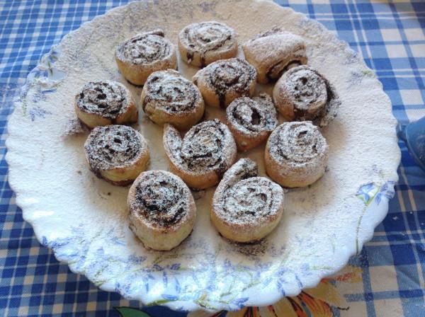 Творожное печенье с какао рецепт