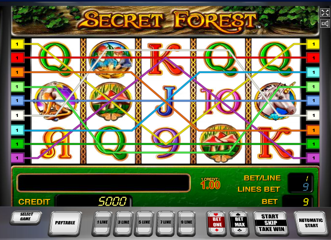 Secret forest слот