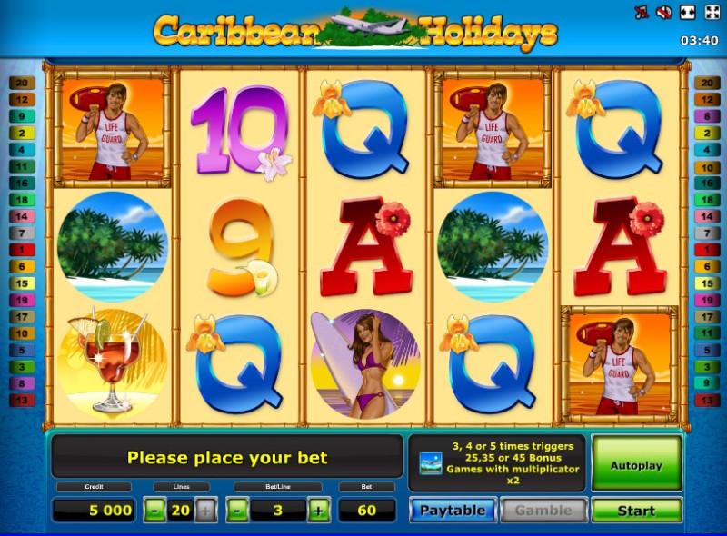Caribbean Holidays слот