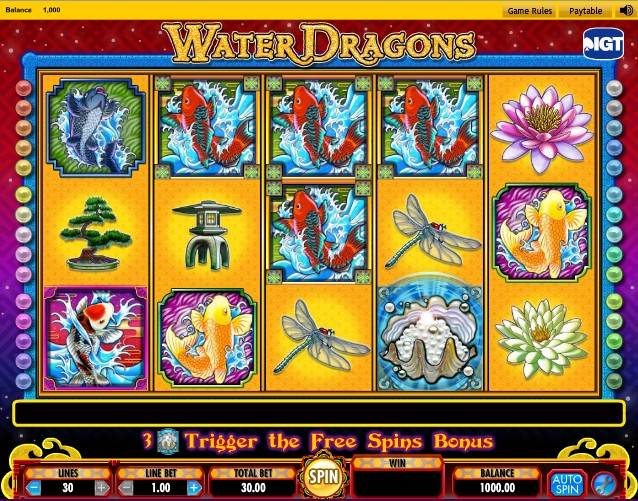 Water Dragons слот