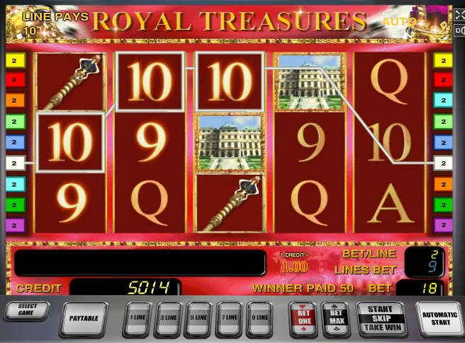 Royal Treasures слот