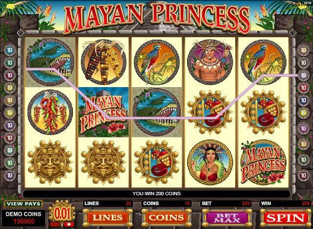 Mayan Princess слот