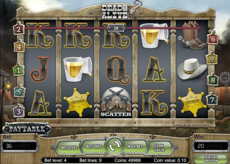Игровой аппарат Dead Or Alive в казино Vulkan поймайте преступников - Google Chrome