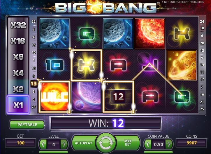 Big Bang слот