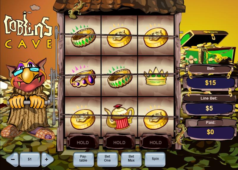 Goblins Cave – игровые автоматы Вулкан бесплатно для гэмблеров - Google Chrome