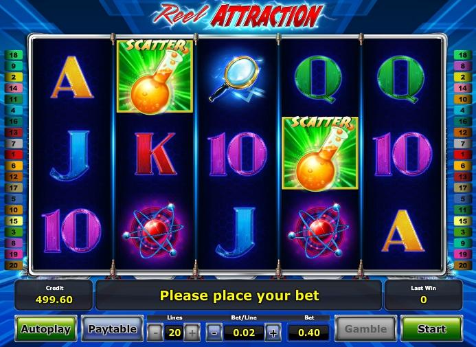 В казино автомат Reel Attraction проявит невероятные возможности - Google Chrome