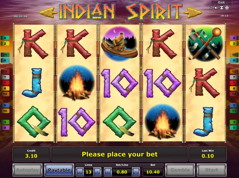 Indian Spirit слот