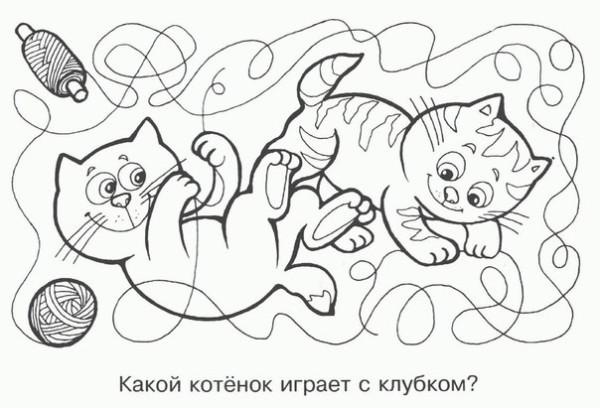 Раскраска для девочек развивающая распечатать