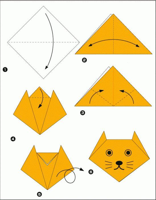 оригами из бумаги для детского сада своими руками