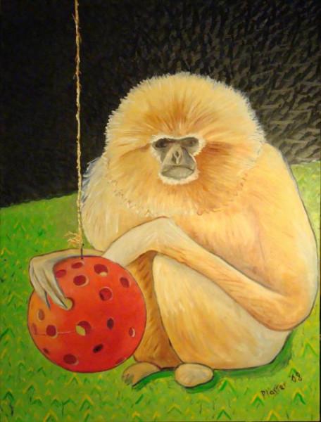 psychic-monkey-scott-plaster