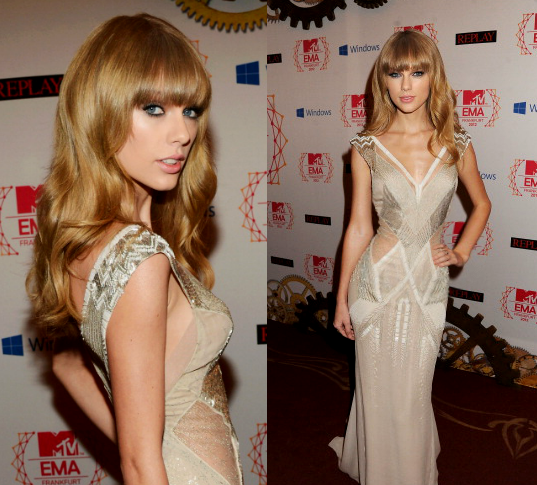 Taylor Swift Arriving At The 2012 Ema S Ohnotheydidnt Livejournal