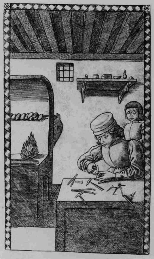 середньовічний ювелір