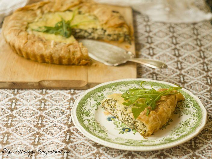 Пироги из руколы рецепты