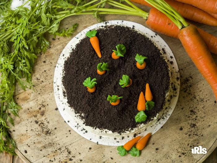 03-10. Морковный торт с кремом из сливочного сыра