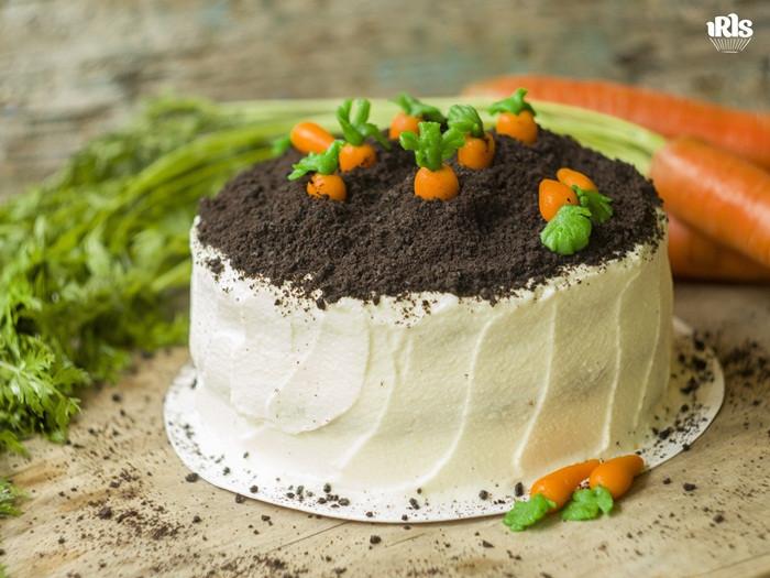 03-12. Морковный торт с кремом из сливочного сыра