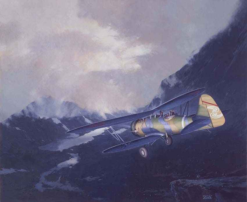 Army Type 94 Reconnaissance-plane (Nakajima Ki-4)