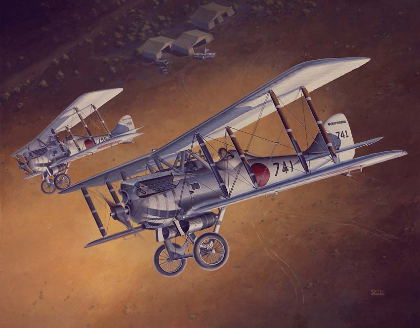 Japan Army Ko-4 Fighter (Nieuport 29C 1)