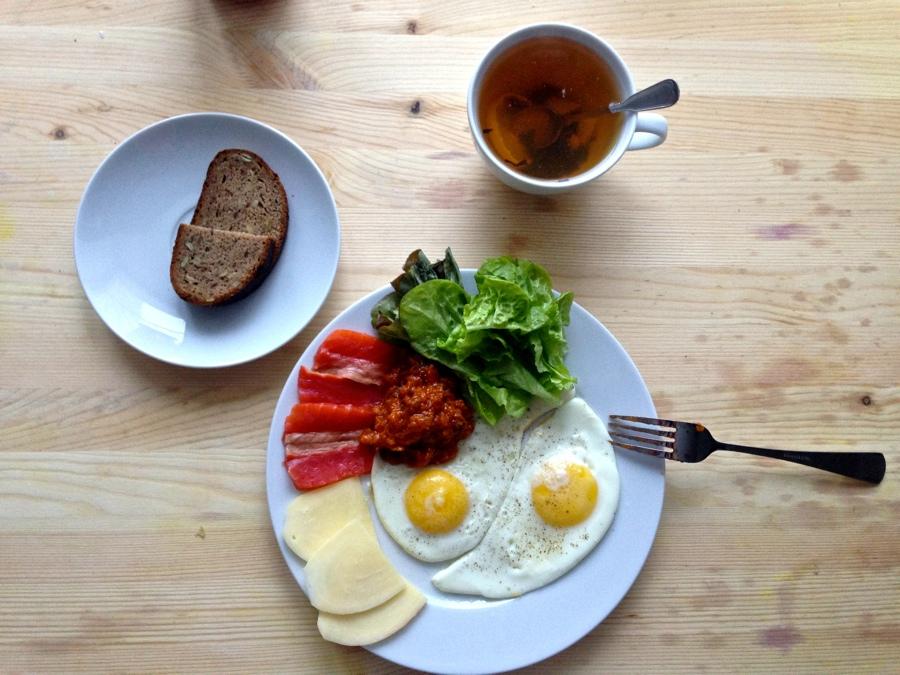 Картинка моего завтрака