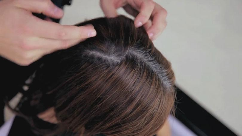 В какой цвет краситься если много седых волос