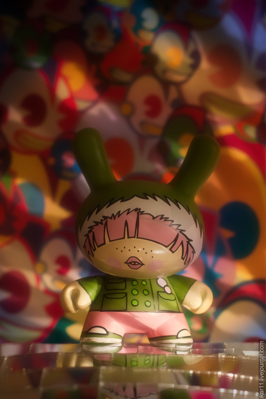 Dunny L.A. Series - Hoodie by Fawn Gehweiler