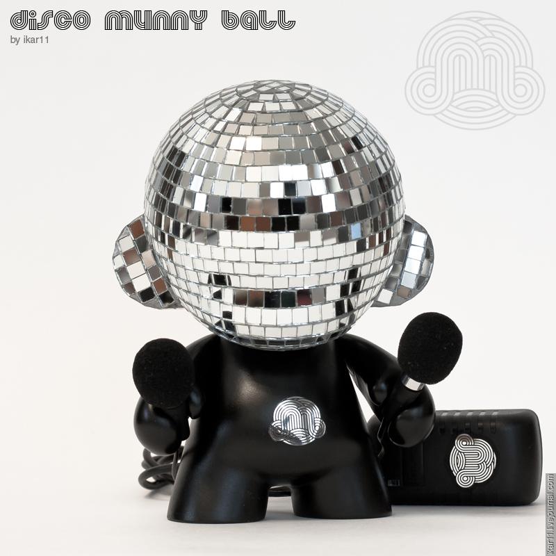 Disco Munny Ball