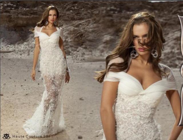 Дани мизрахи свадебные платья