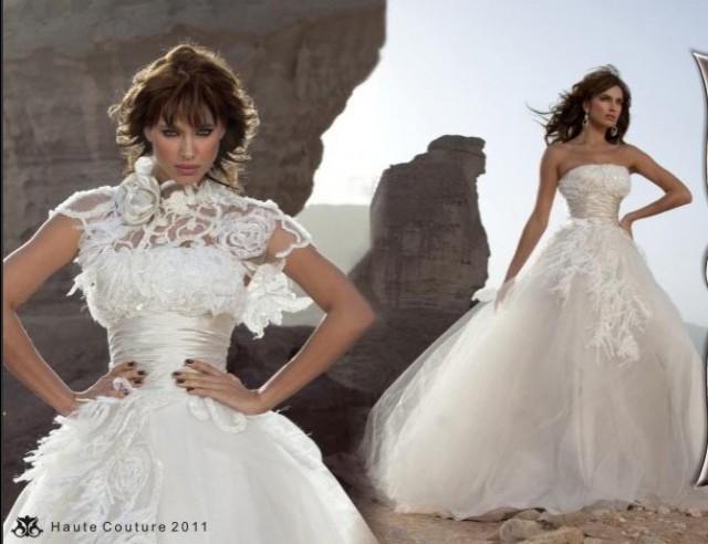 Свадебные платья дани мизрахи