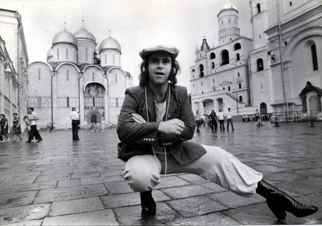 Elton John in Moscow 1979