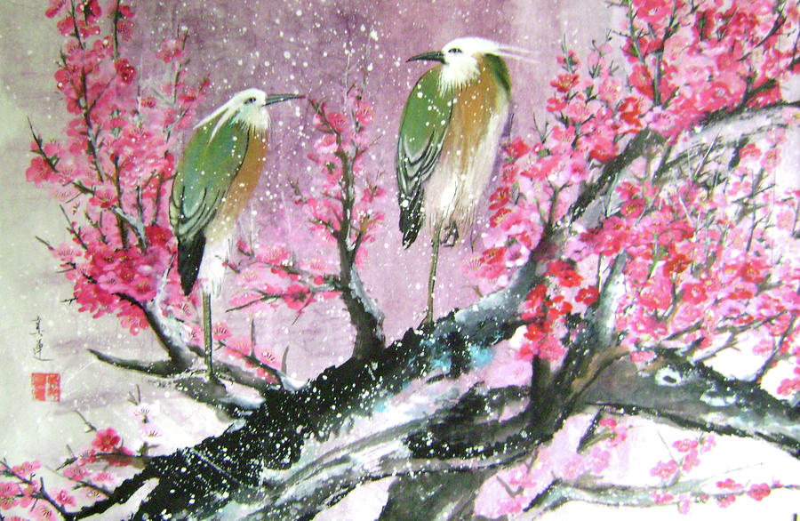 birds-in-snow-lian-zhen