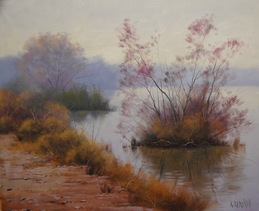 misty_hawksbury_river_by_artsaus-d5465hc