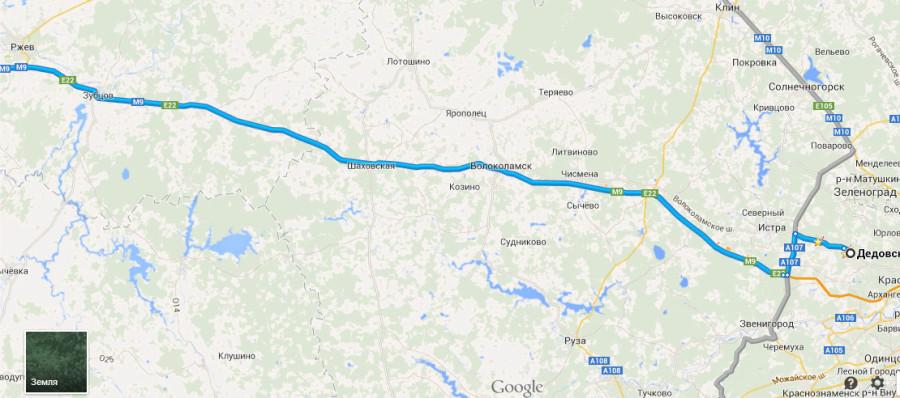 M9-Рига-Москва-Пустошка