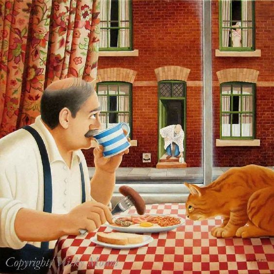 Вики Маунт - Завтрак с котом