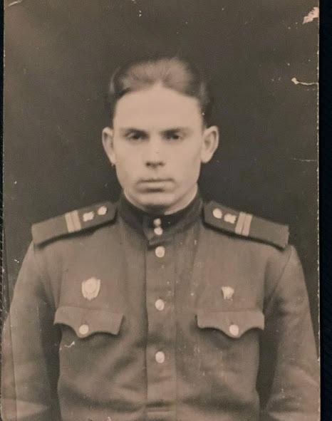 Дядя Леша, армейский снимок, ГДР, год примерно 1961-1962
