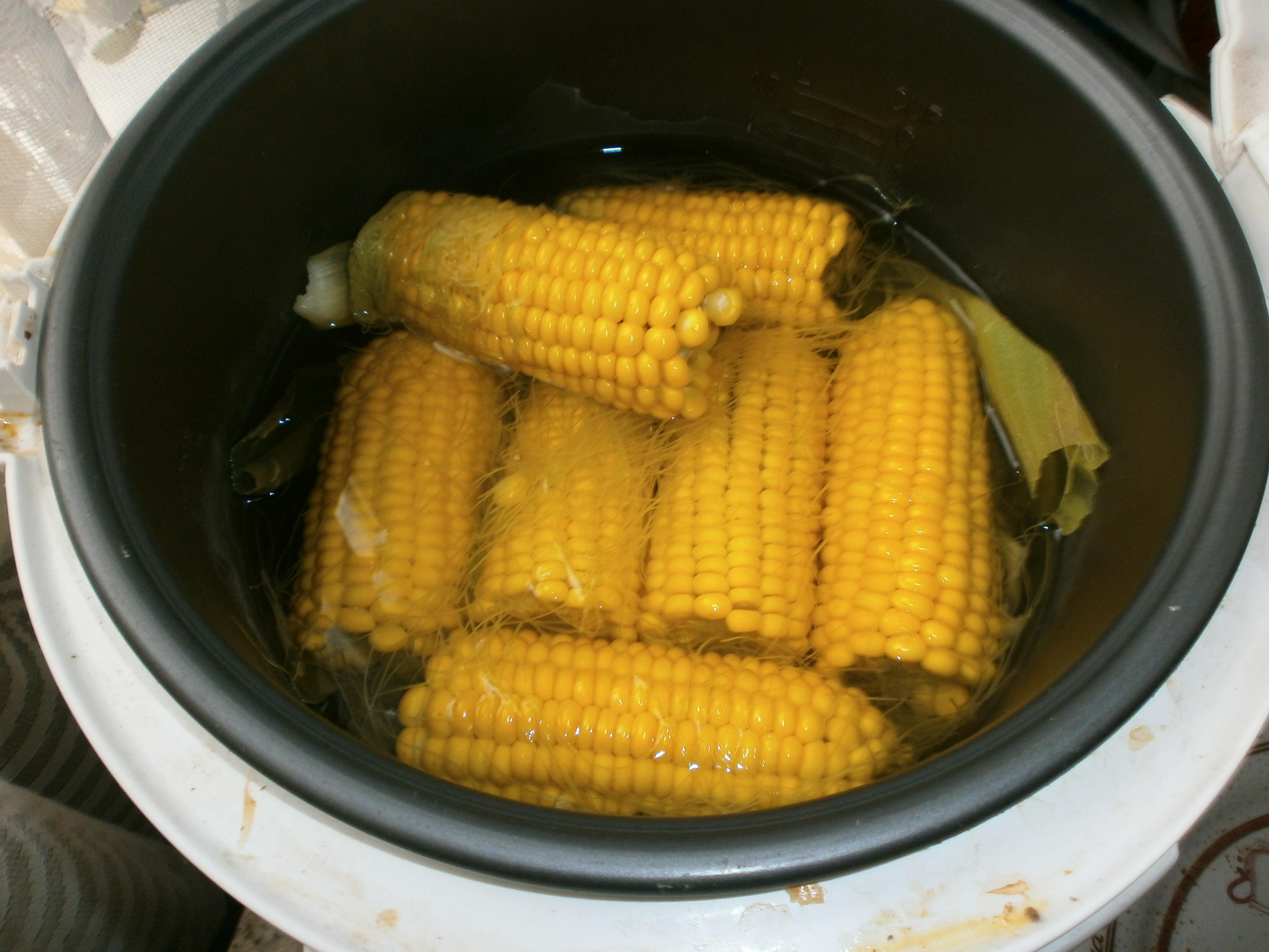 Кукуруза на пару в мультиварке редмонд рецепт с фото пошагово