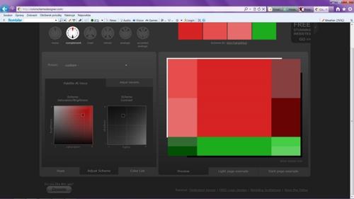 иконки цветовых схем,