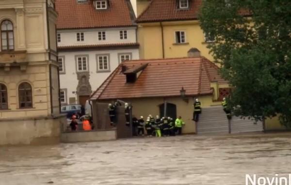 Прага 2013 Наводнение