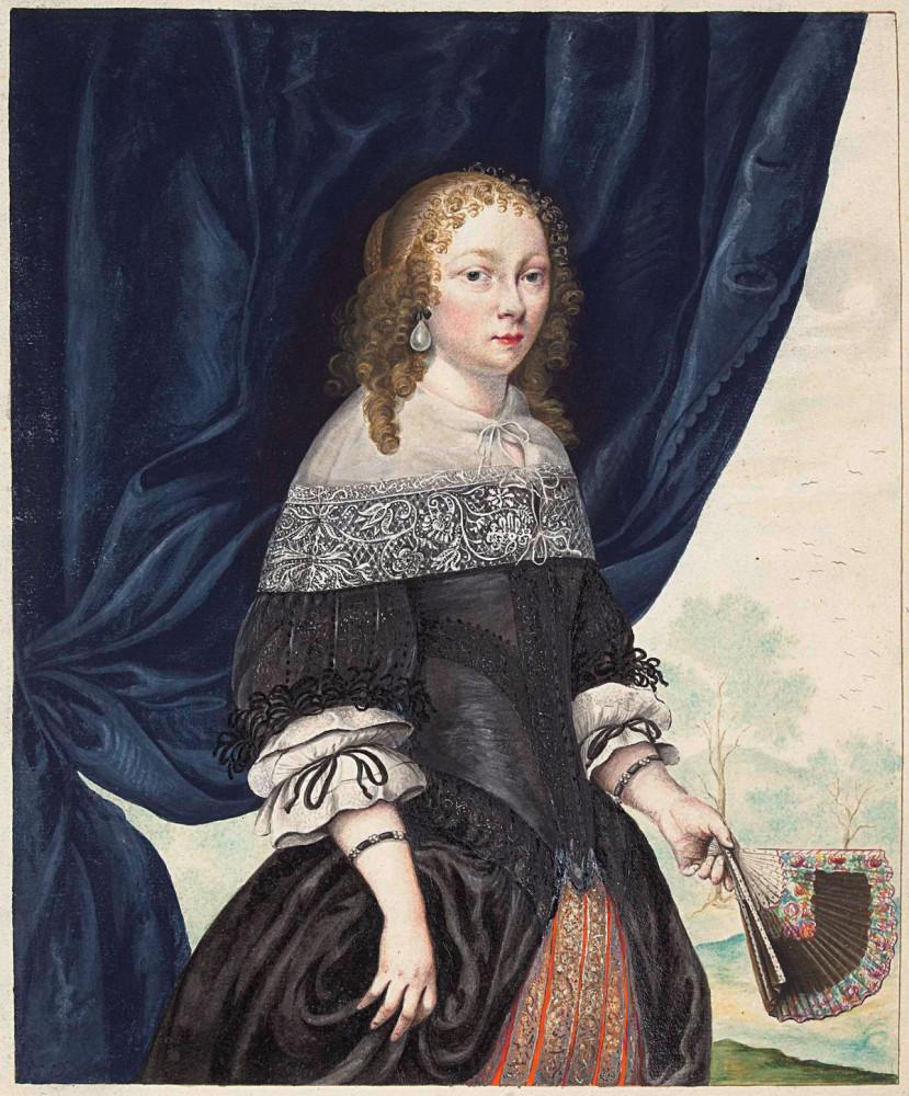 Гезина тер Борх -(1633-1690) голландская художница-акварелистка, чертежница и поэтесса.(1633-1690)