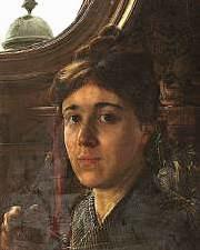 Анна Альма-Тадема (1867-1943) - британская художница, специализировавшаяся на интерьерных сценах и городских пейзажах.