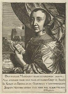Маргарета Годевик (1627-1677) - голландская художница и поэтесса.