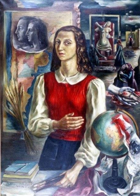 Ракель Форнер - (1902-1988) аргентинская художница-экспрессионистка.