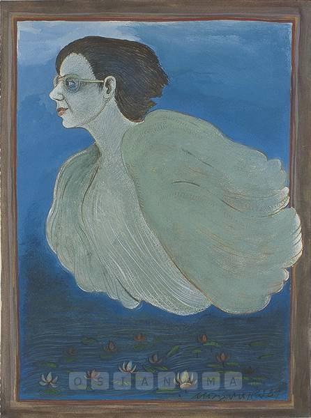 Годжи Сародж Пал (1945-) - индийская художница, работающая в техниках живописи гуашью, маслом, а также с керамикой и тканями.