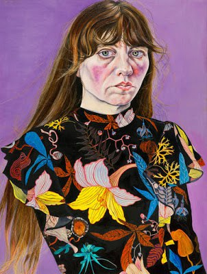 Избель Мьерскау (1968-) - британская художница, известная портретами и автопортретами.