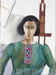 Андзю Додиа (1965-) - индийская художница-акварелистка.