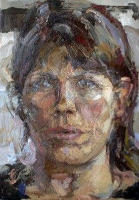 Кэтрин Гудман (1961-) - британская художница, известная портретами, натюрмортами и городскими пейзажами.