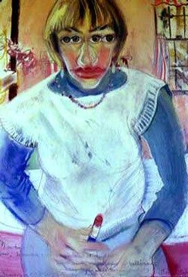 Марта Миллер (1954-) - американская художница, известная портретами и автопортретами, выполненными в смешанных техниках.