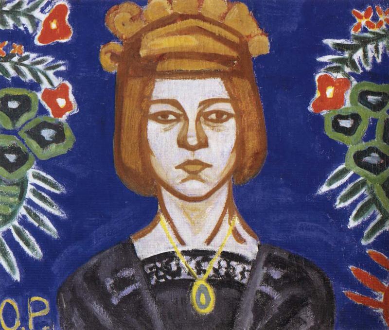 О́льга Влади́мировна Ро́занова (21 июня (3 июля) 1886, Меленки — 7 ноября 1918, Москва) — живописец, график, художник книги и декоративно-прикладного искусства, автор статей по искусству, поэтесса.