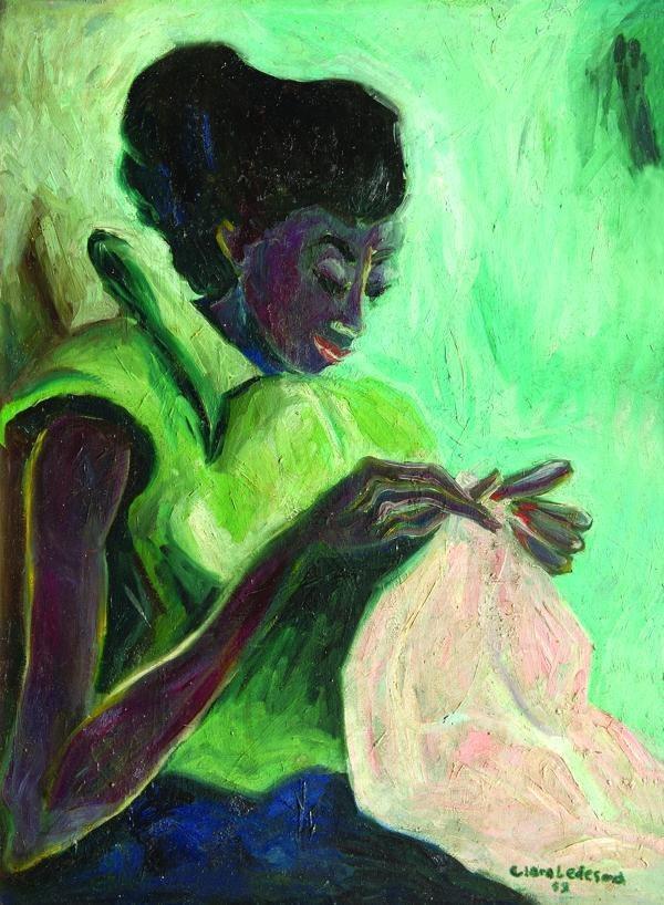 Клара Ледесма (1929-1999) - художница из Доминиканской Республики.