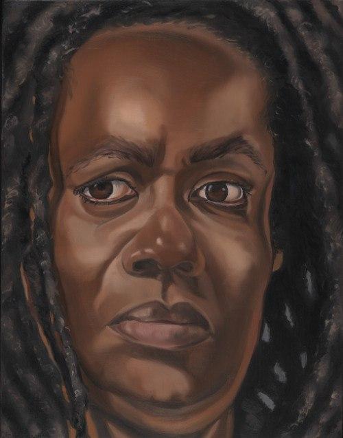 Диана Эдисон (1950-) - афроамериканская художница, известная портретами и автопортретами.